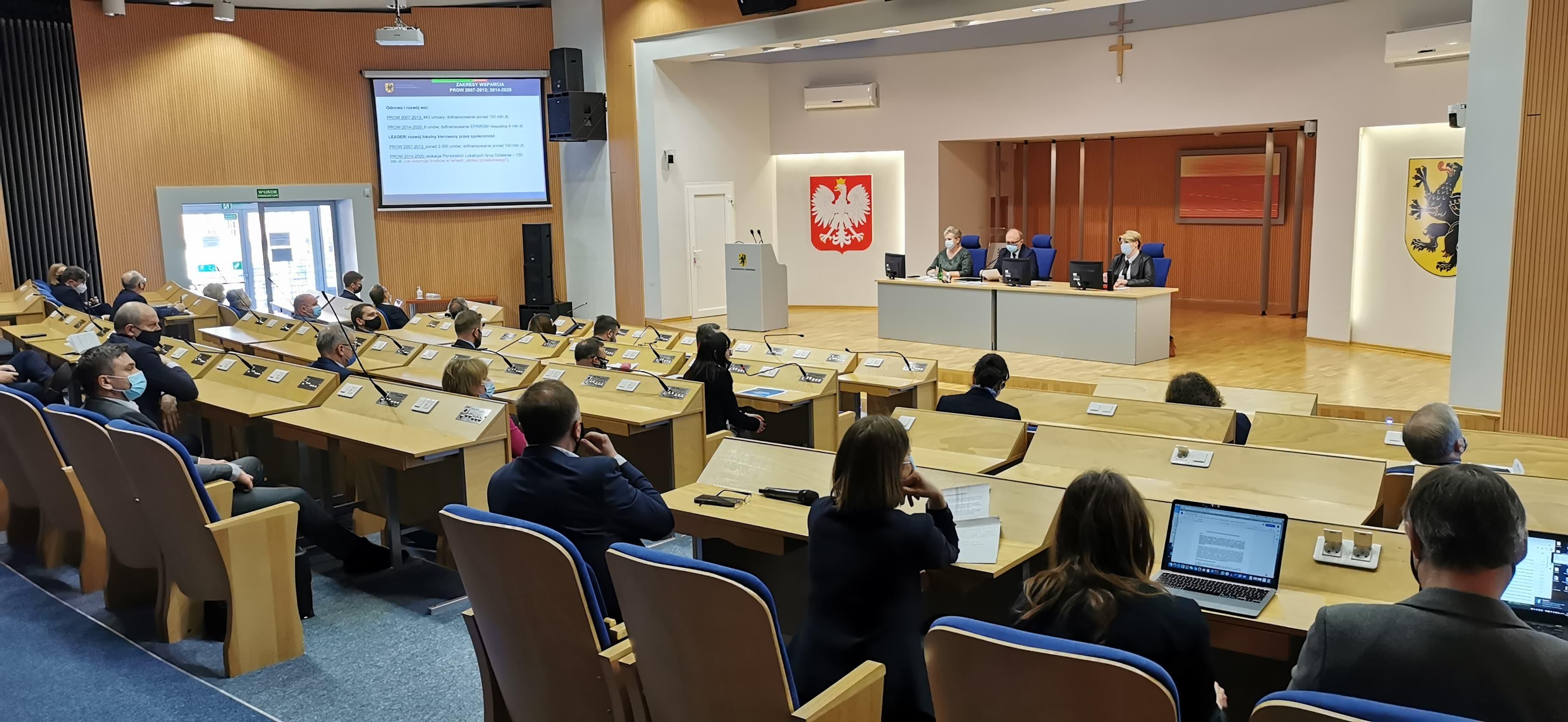 Spotkanie na temat funduszy europejskich w ramach nowego budżet Unii Europejskiej