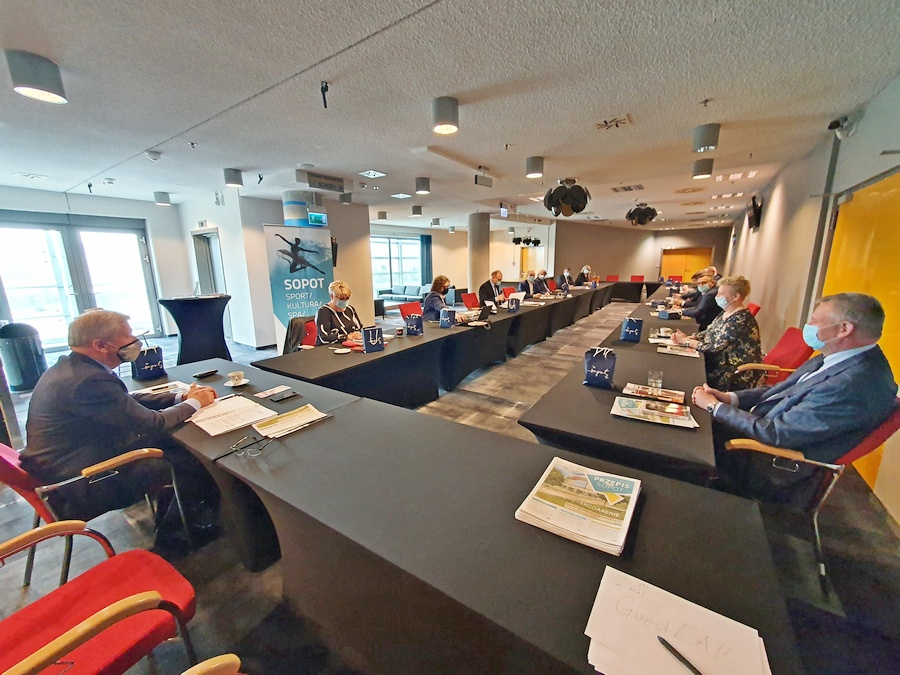 Posiedzenie Zarządu i Komisji Rewizyjnej 04.05.2021r